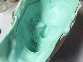 Joker Prosthetic Mould